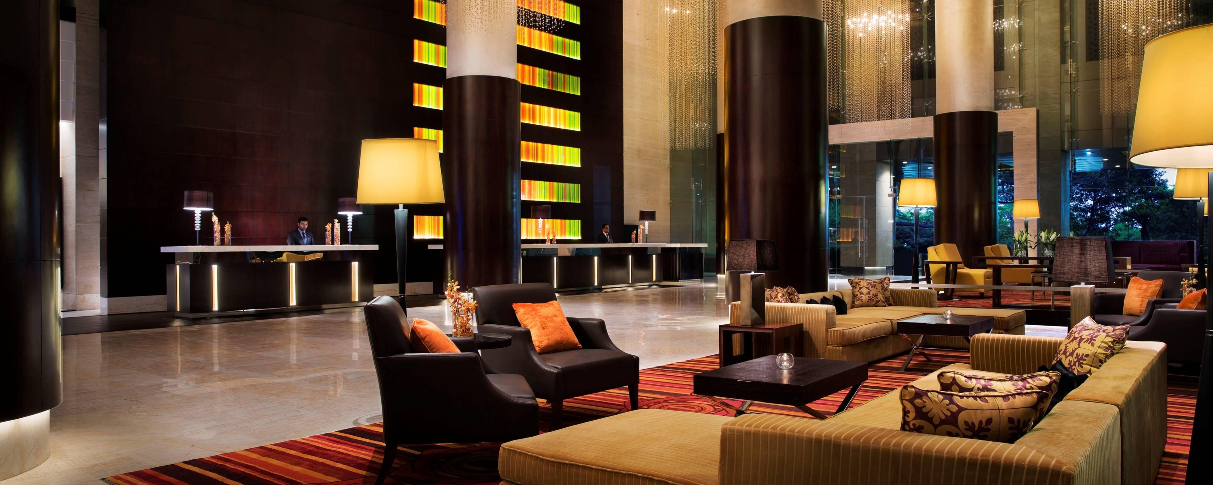 5 Star Luxury Hotel In Bangalore India Jw Marriott