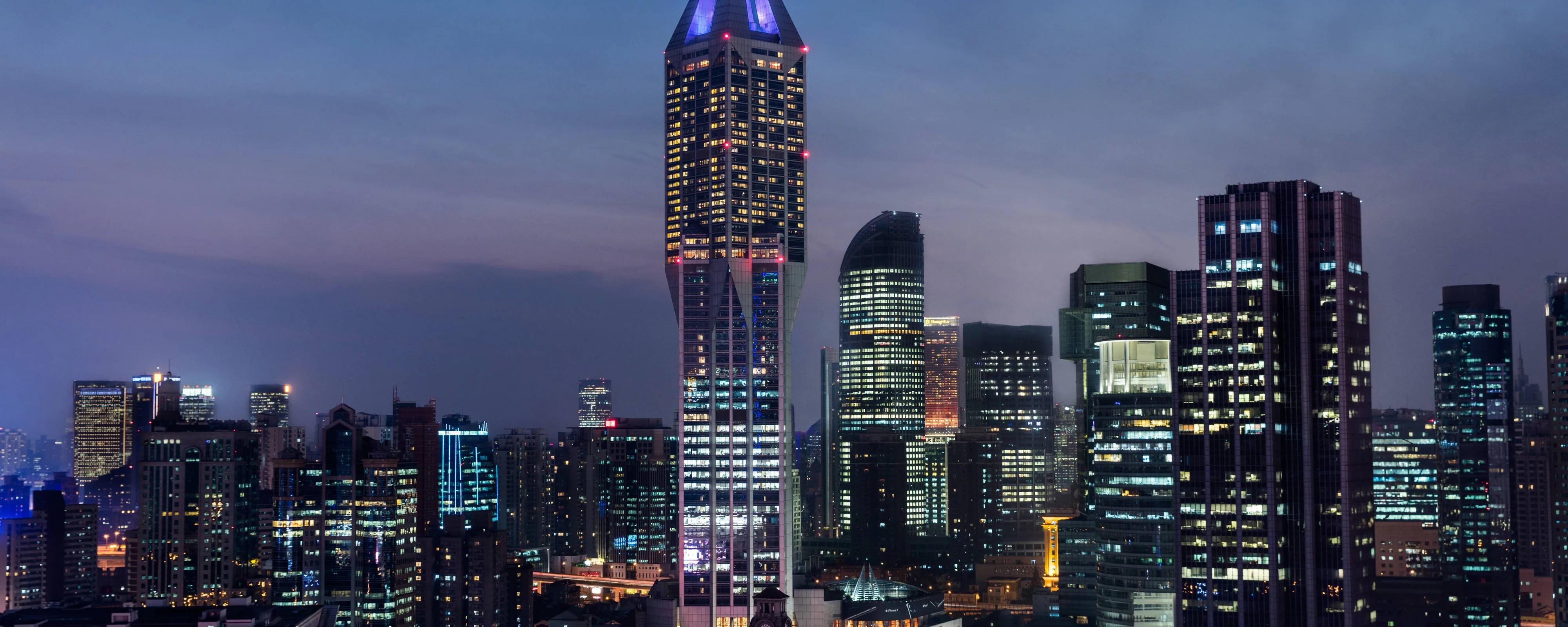 Downtown Shanghai Hotel Jw Marriott Hotel Shanghai At