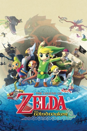 Best Legend of Zelda Video Games of All Time Zelda Wind waker video games cover art