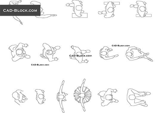 2d Cad Symbols Gym Equipment
