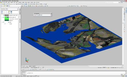 Using the 3d in AutoCAD Map 3d   The Mapping Link