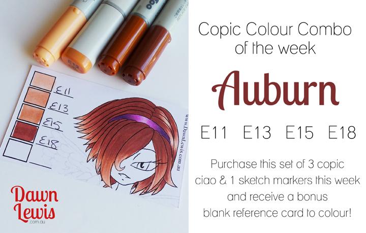 Copic Color Combo | cakeandenemy