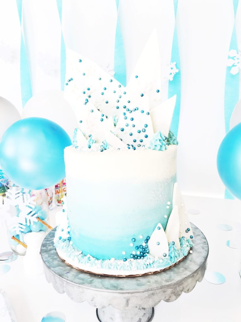 Avery S Quot Frozen Quot Birthday Cake By Courtney