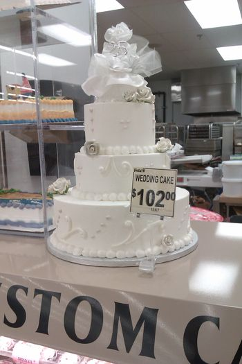 Forget Walmart  Behold  Fiesta Wedding Cakes   CakeCentral com OK  enough talk  here are the pics  tier sizes on the price card