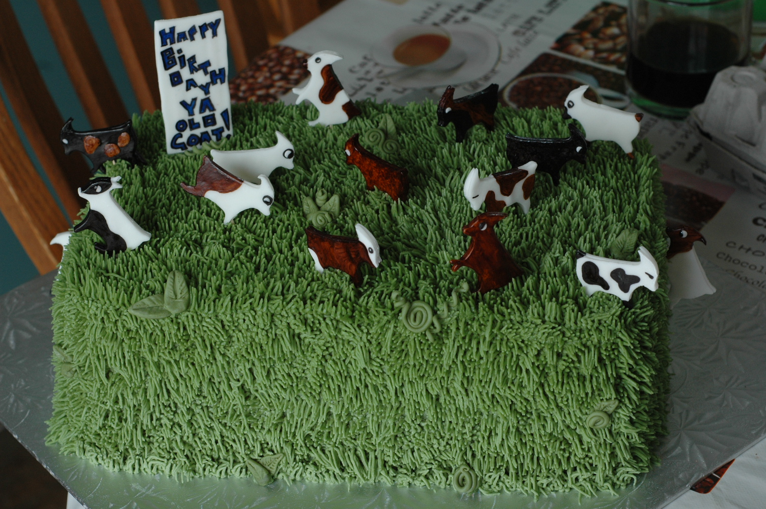 50th Birthday Old Goat Cake Sarah S Speciality Cakes