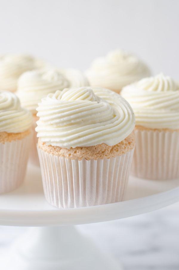 Lemon Berry Angel Food Cupcakes The Cake Merchant