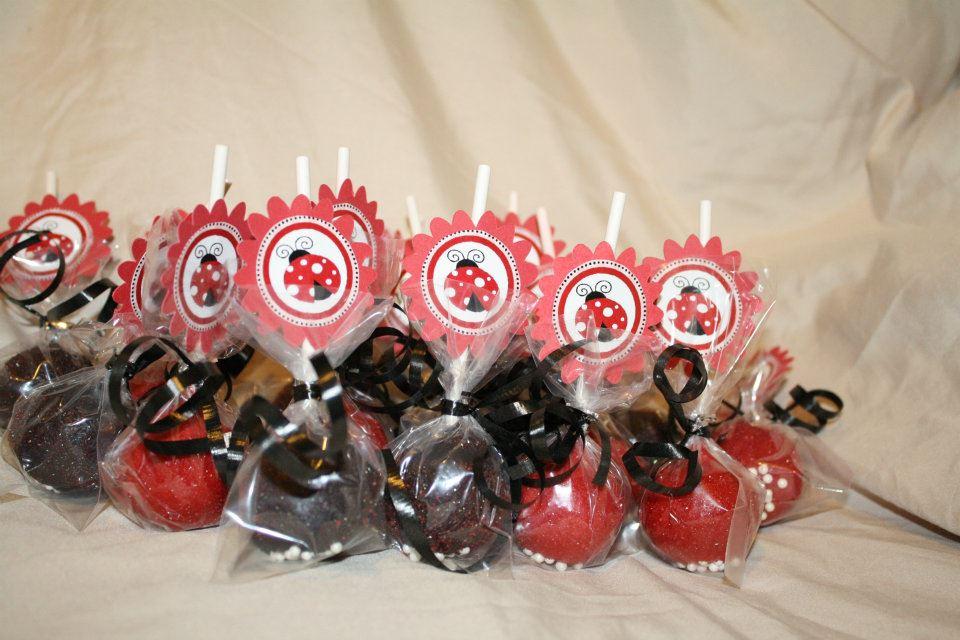 Ladybug Cakepops Cakepoppinparties