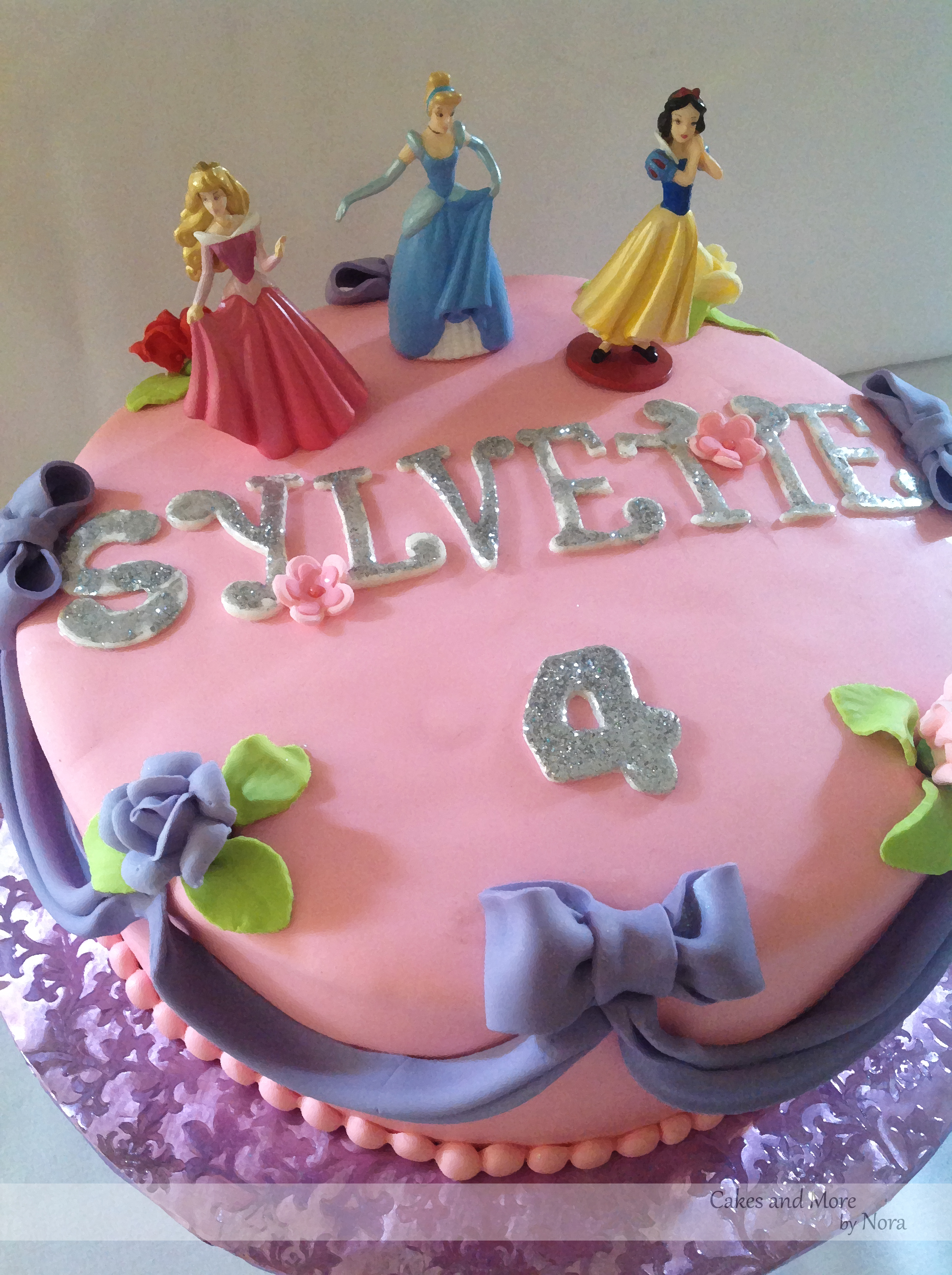 4th Birthday Cake For A Princess Cakes And More By Nora