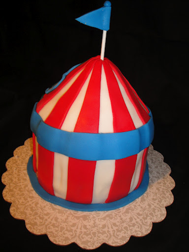 Mini Circus Tent Cake Cakes By Nathalie