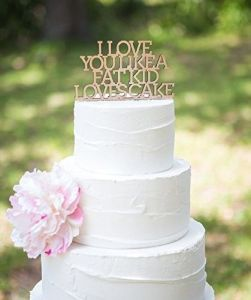 Funny Wedding Cake Toppers   Shop Funny Wedding Cake Toppers Online Cake Topper for Wedding Funny Cake Topper in Glitter or Rustic Wood   Glitter Wed