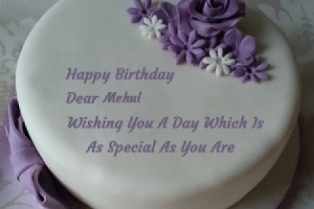 Happy Birthday Kajal Name Cake Image Satu Sticker