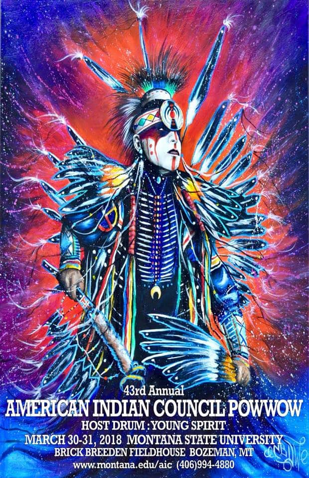 43rd Annual American Indian Council Powwow 2018 Pow