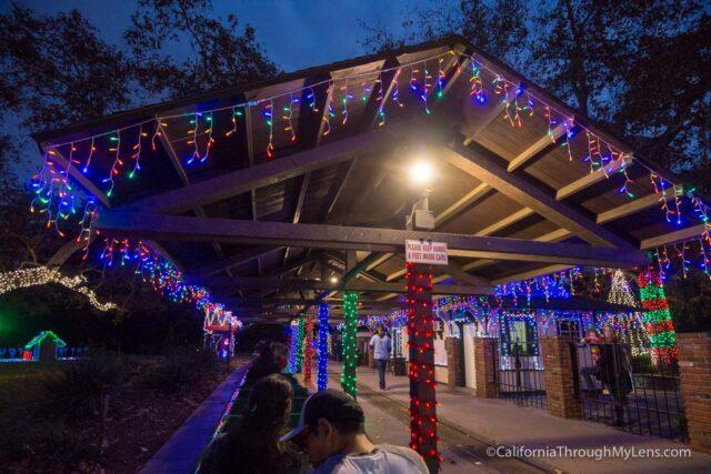 Christmas Lights Griffith Park