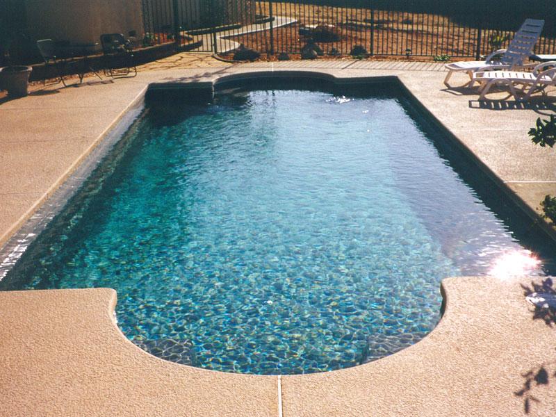 Chesapeake Medium Sized Fiberglass Viking Swimming Pool