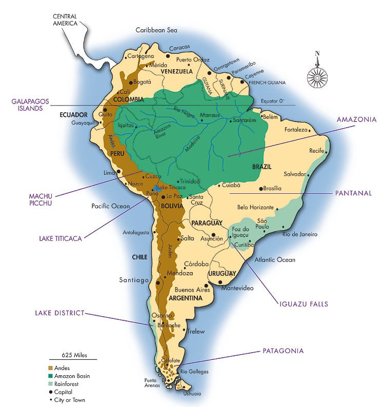 Map of the Amazon | Journey to Camp 41 in Brazil's Amazon ...
