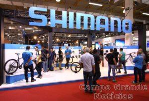 Estande Shimano na Cycle Fair – Foto: JB Carvalho / Shimano