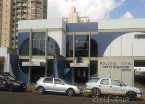 Sede da Polícia Civil e da Depac no Centro de Campo Grande (MS) – Foto: Álvaro Barbosa/Arquivo