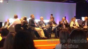Marcio Neves durante mesa do Hospital Innovation Show – Foto: Divulgação