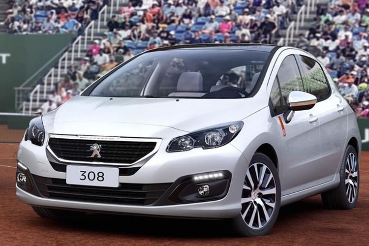 Peugeot 308 edição espeical Roland Garros (Foto: Divulgação)