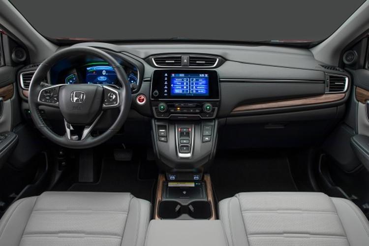 Interior do novo Honda CR-V (Foto: Divulgação)