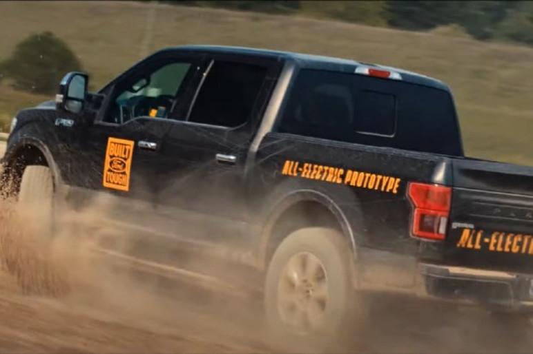 Ford F-150 elétrica foi apresentada pela fabricante em vídeo (Foto: Divulgação)