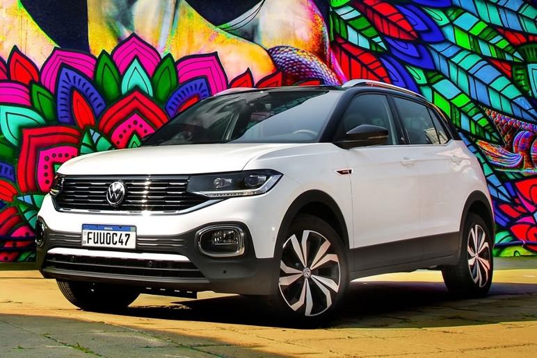 Volkswagen T-Cross 2021 Dianteira Estatica