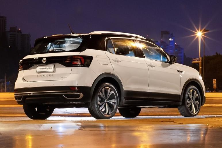 Volkswagen T-Cross 2021 Traseira Estatica