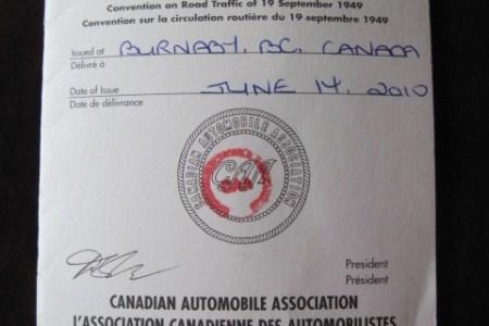 International Driving License Toronto Caa - ideaquid's blog