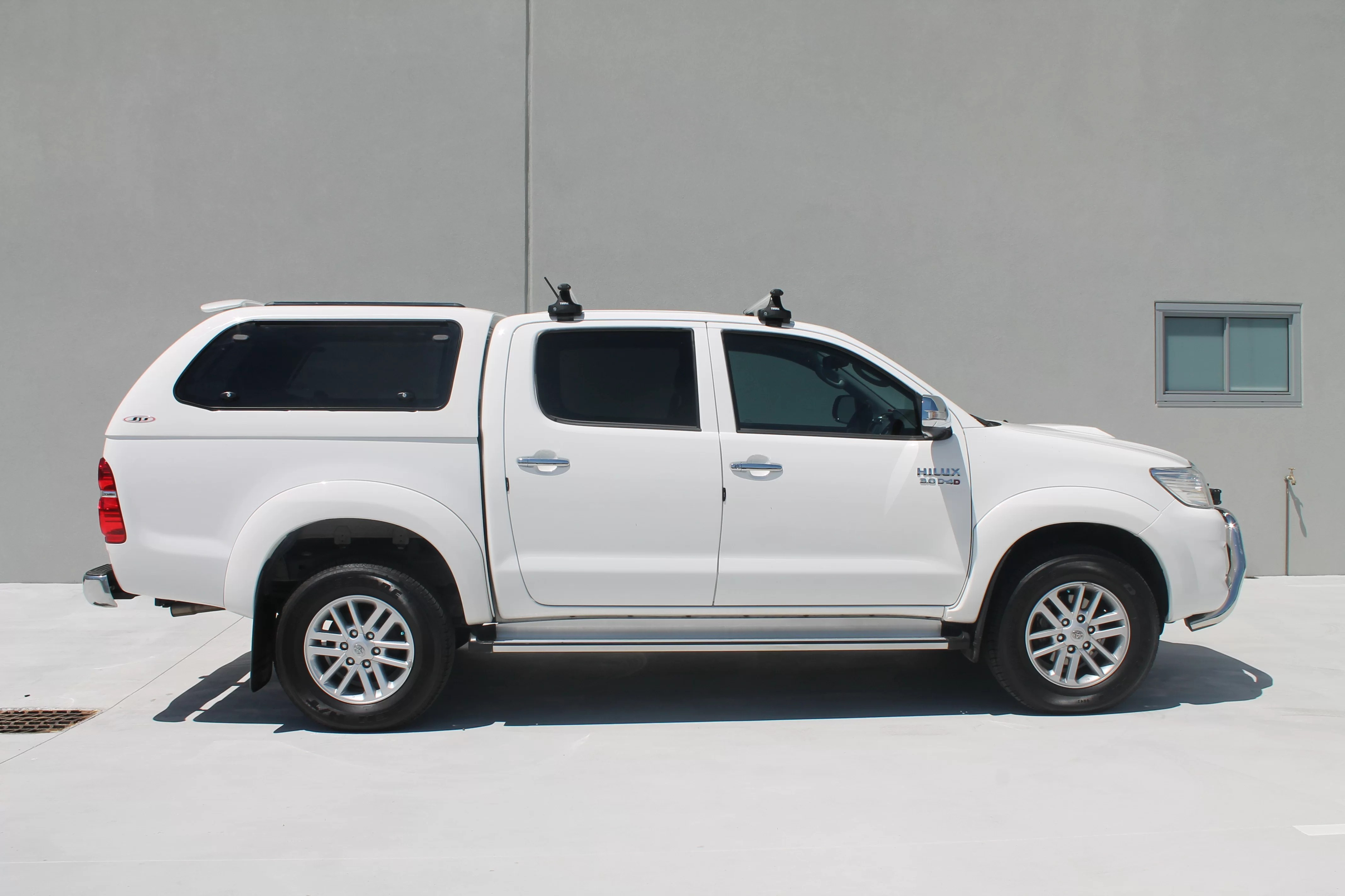 Toyota Hilux White Welcome To Canopies Wa