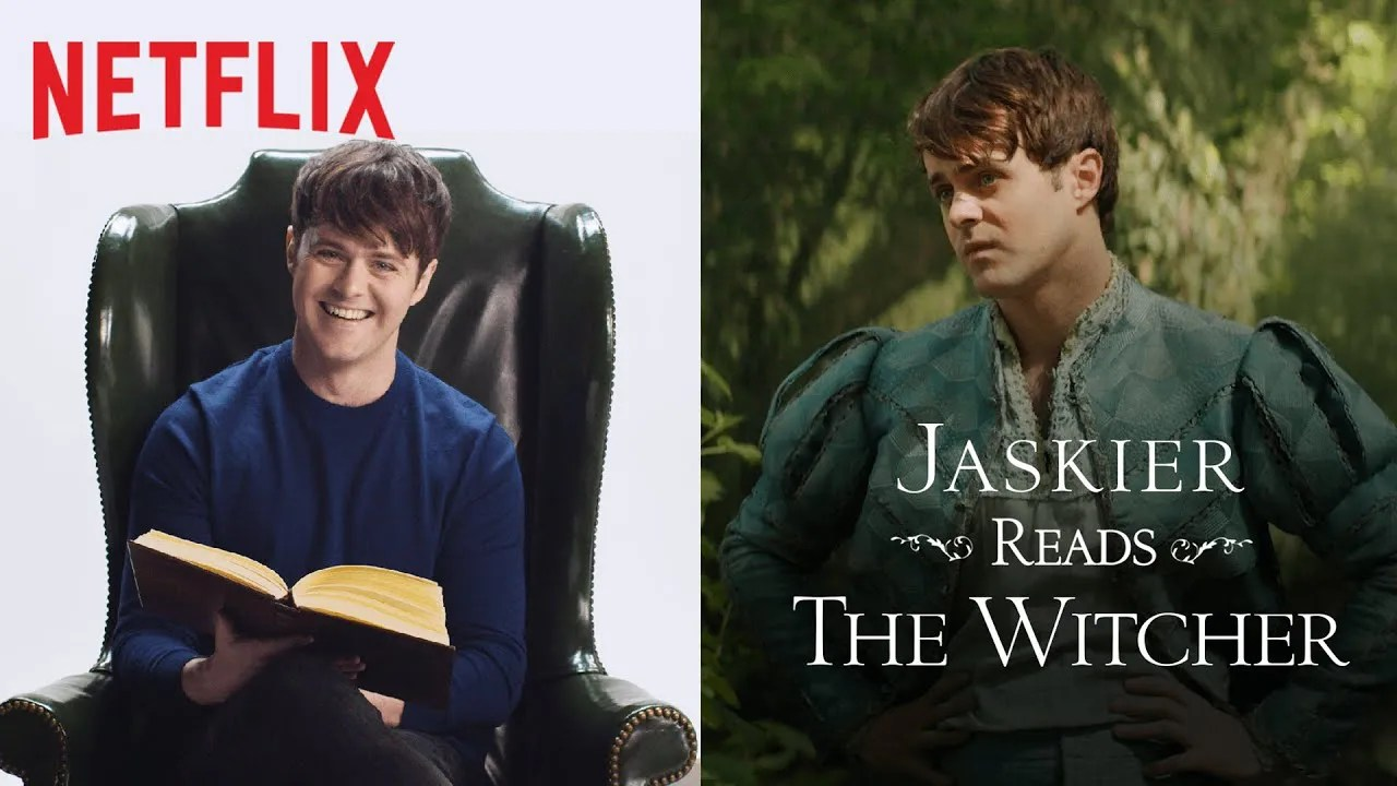 Jaskier Reads The Witcher (feat. Joey Batey) | Netflix