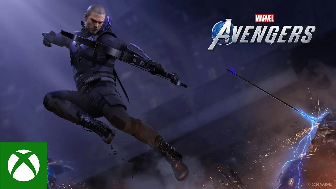 Marvel's Avengers: Hawkeye Tease - YouTube