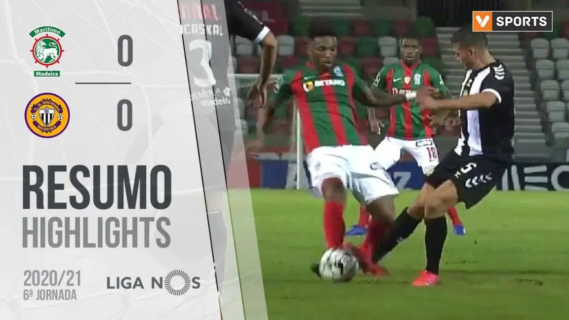 Highlights | Resumo: Marítimo 0-0 CD Nacional (Liga 20/21 #6)