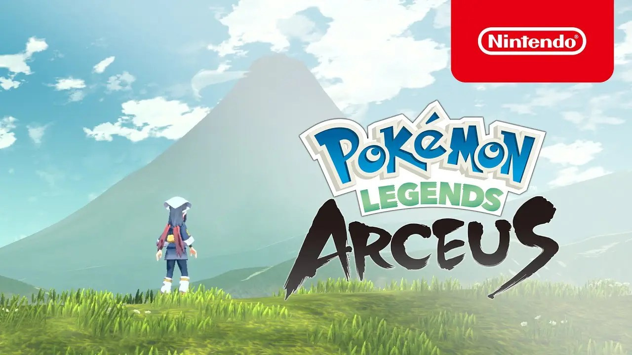 Pokémon Legends: Arceus – Trailer de revelação (Nintendo Switch)