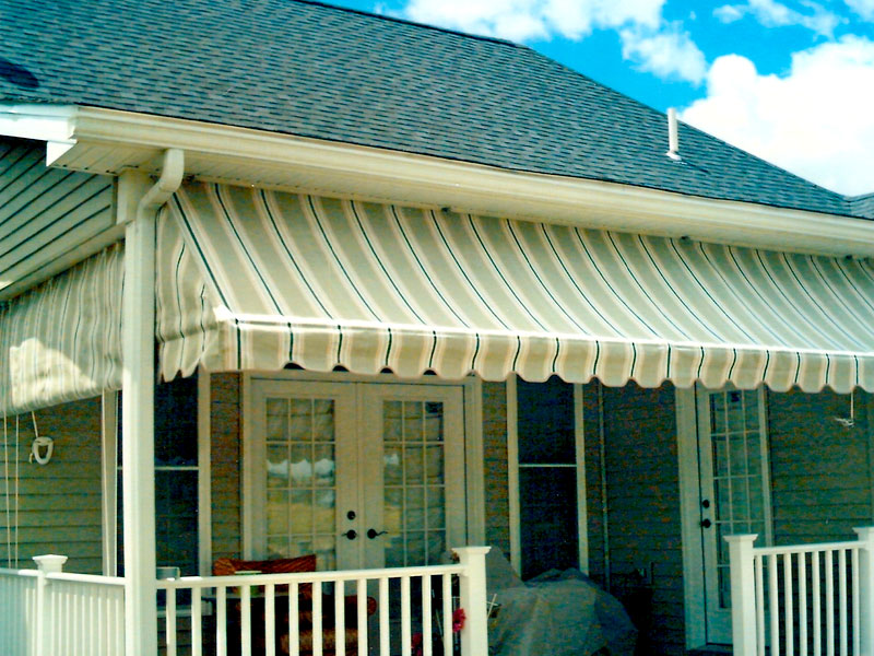 Window And Porch Awnings Photogalleries Canvas