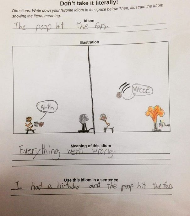 23 Funny Kid Test Answers From Smartass Children