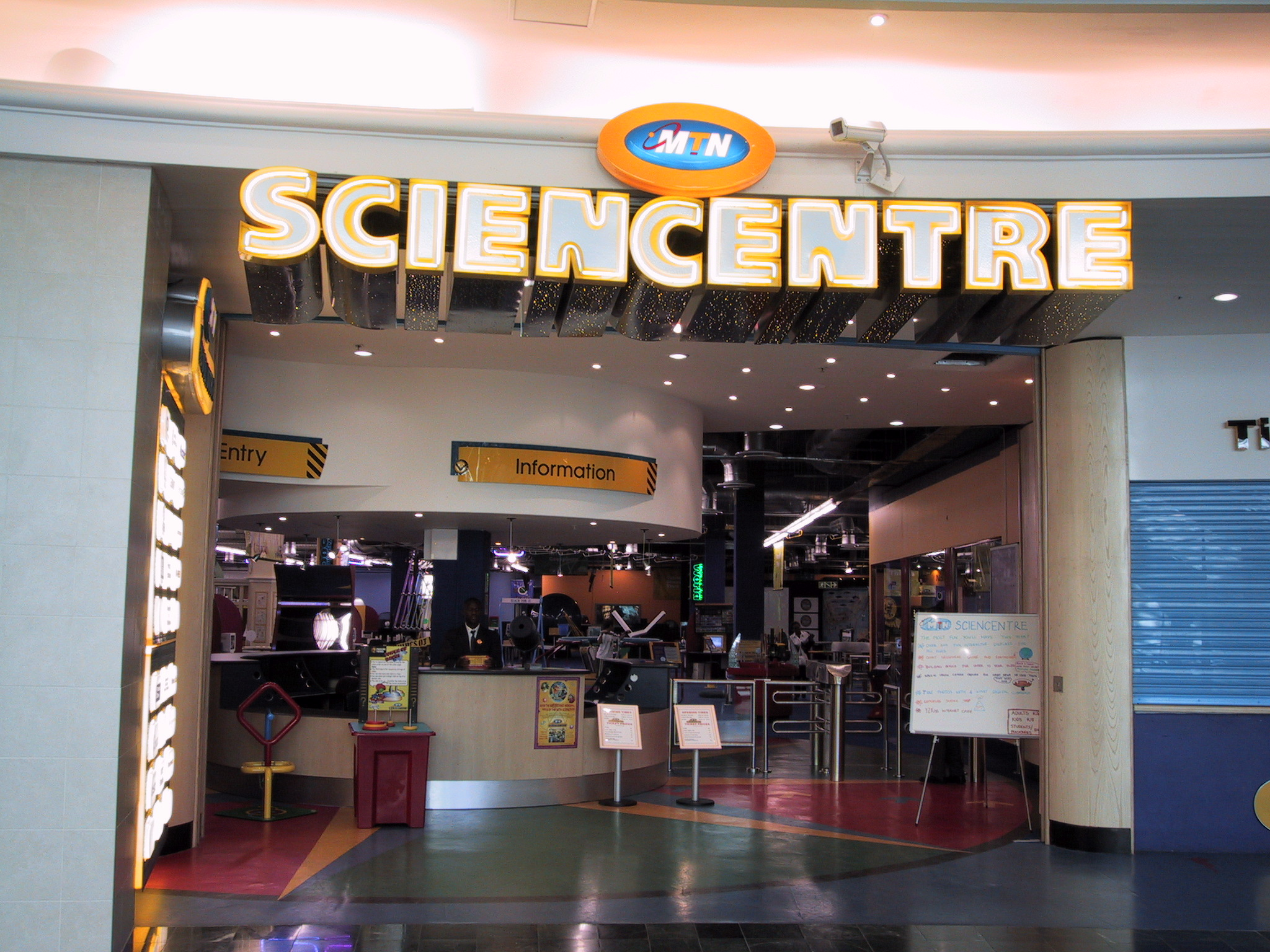 Breaking News Cape Town Science Centre