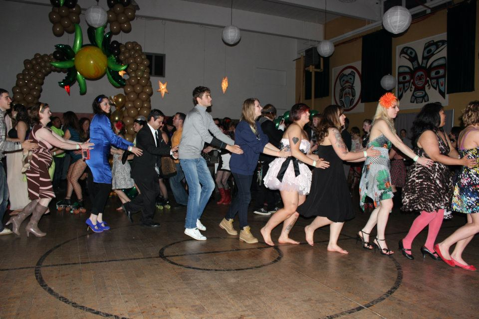 Adult Prom 2012 Jungle Fever With The Rollergirls