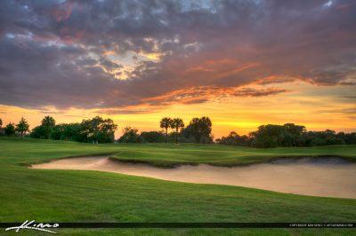 Sunset North Palm Golf Course Florida