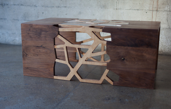 Coffee Table Design By Gradient Matter Inspired By Human