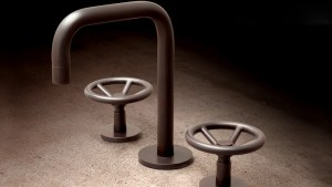 Industrial Chic Brass Faucets By Watermark Designs