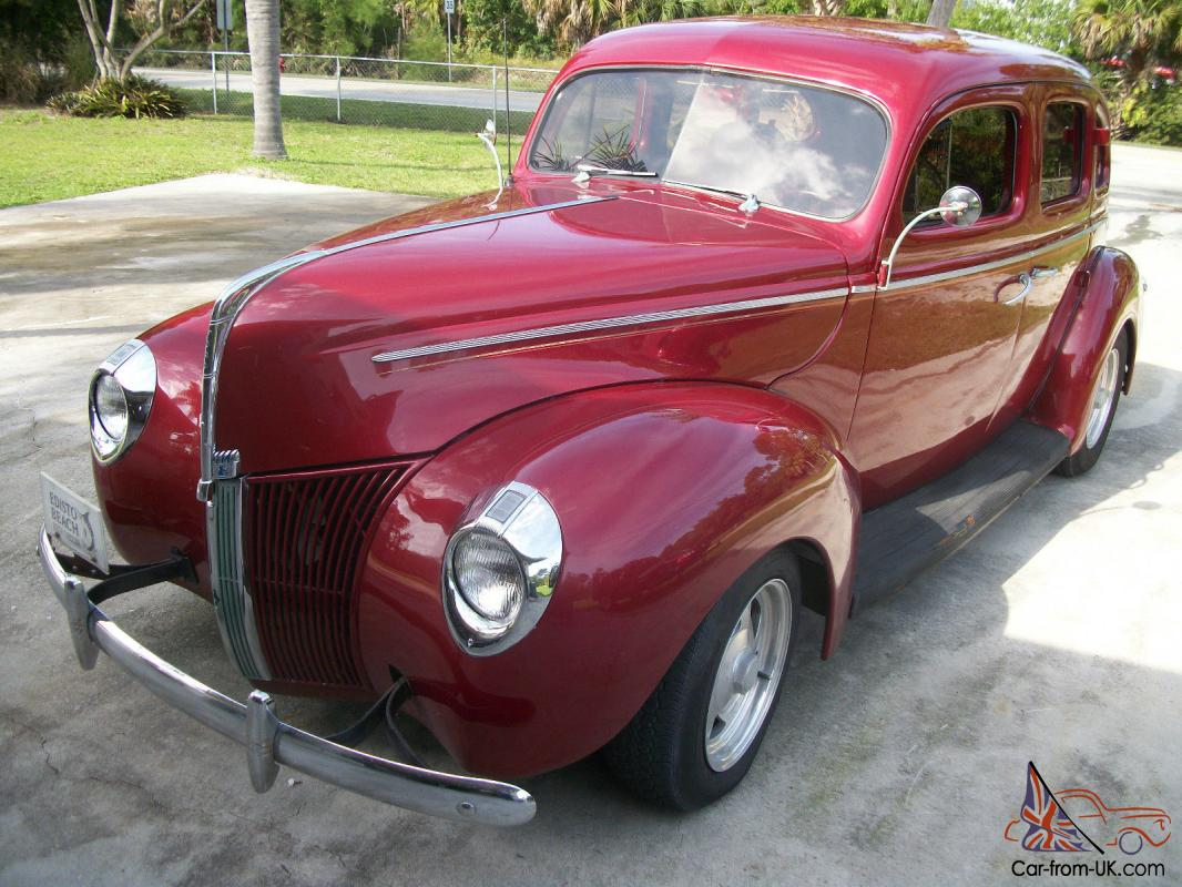 1940 FORD with Suicide doors