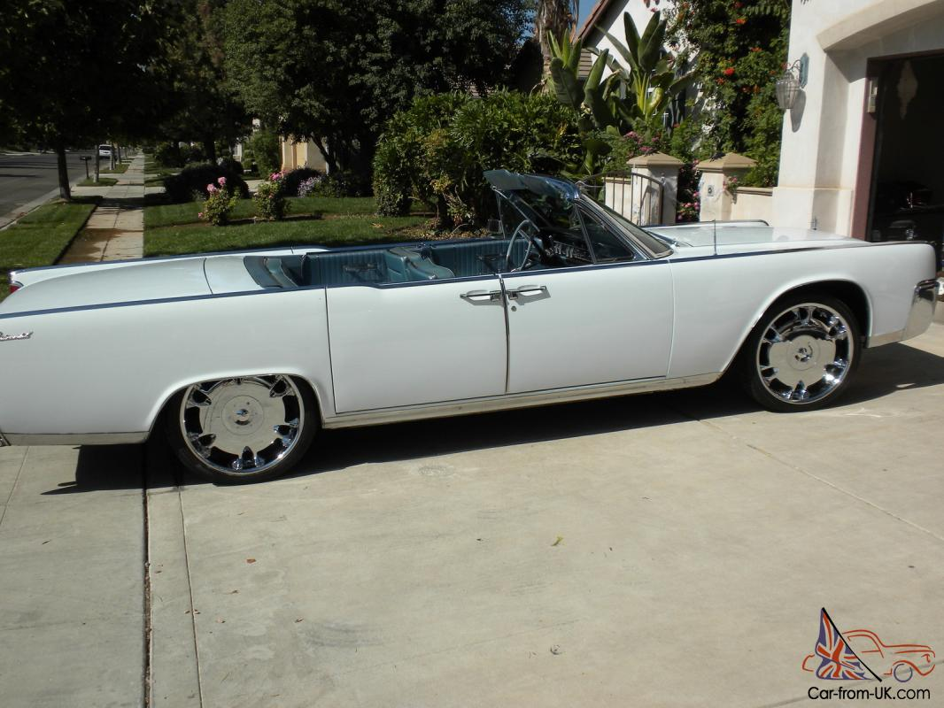 1964 LINCOLN CONTINENTAL CONVERTIBLE, AMERICAN CLASSIC CAR ...