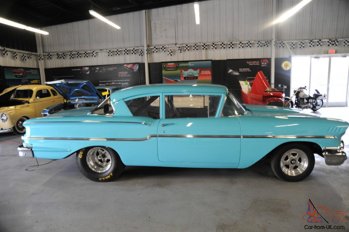 1958 Chevy Delray PRO STREET 11 Second Qtr Mile Muscle Car
