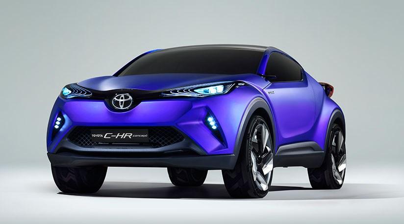 Toyota C Hr Concept Car 2014 First Sight Of Juke