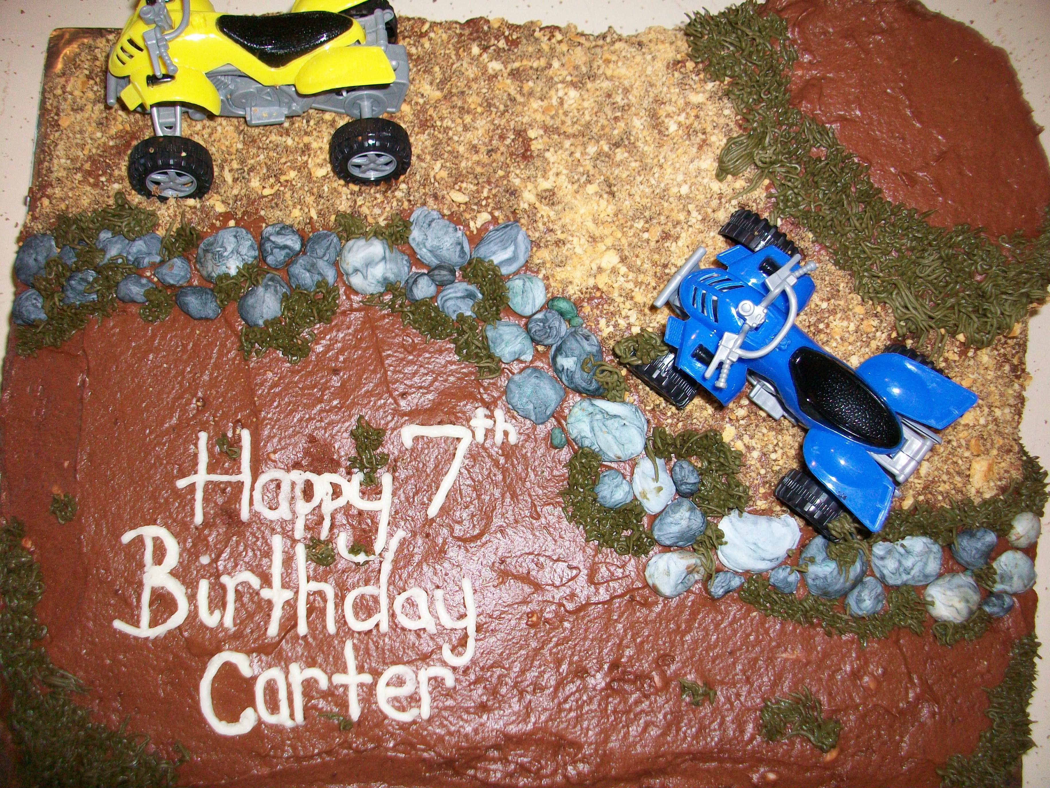 Four Wheeler Cake Sweet Caroline Treats