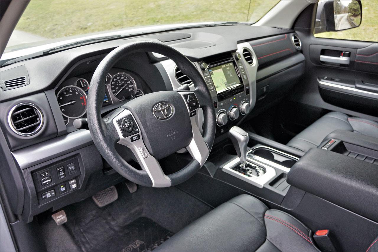 Trd Toyota Tundra 2017 Inside