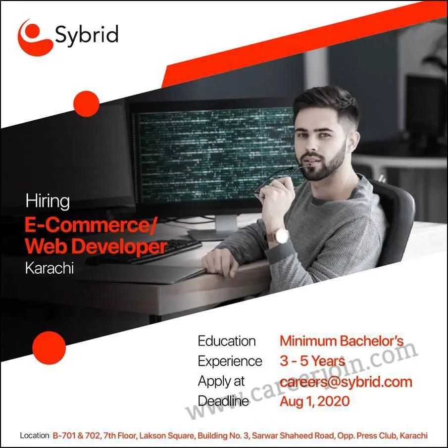 Sybrid Pvt Ltd Jobs Ecommerce Web Developer
