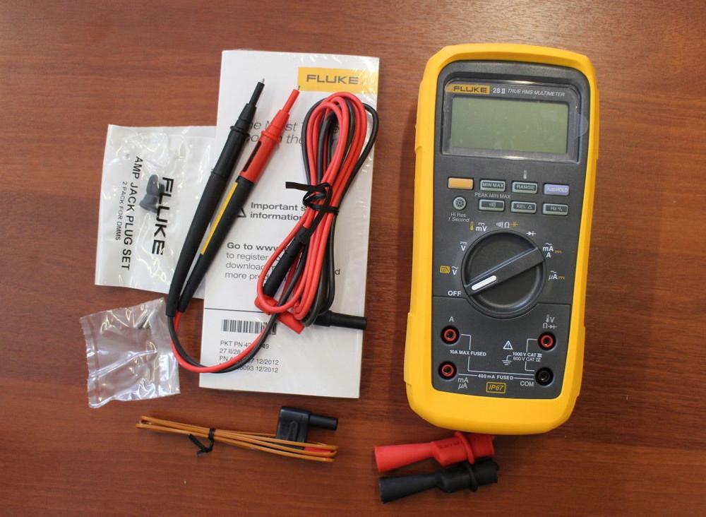 Multiméter Fluke 28-II