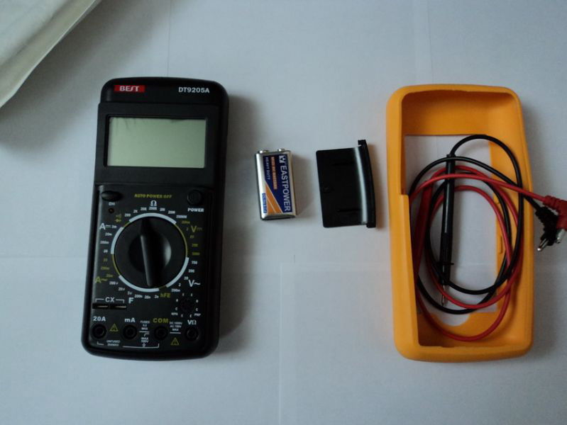 Multimetre ve Pil