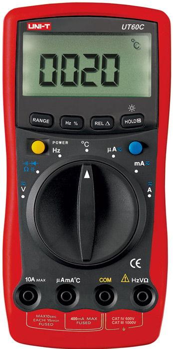 Multimeter uni-t ut 60 c